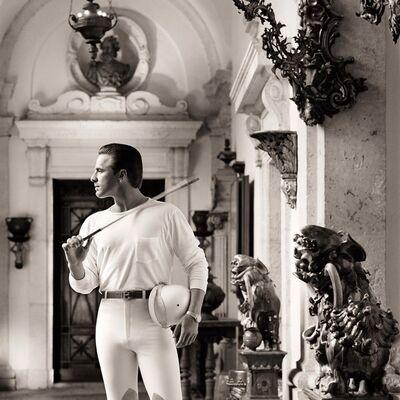 Matthew Rolston, 'Don Johnson, Polo Clothes, Miami', 1986