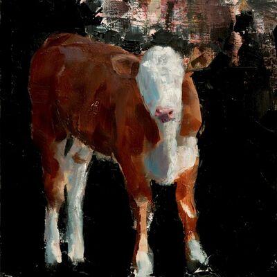 Nicolas V. Sanchez, 'Calf Reflection Study'