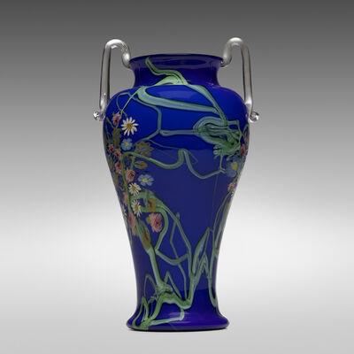 Vetreria Artistica Barovier, 'A Murrine Floreali vase', c. 1920