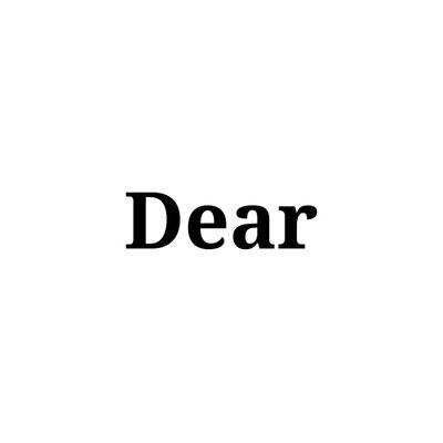 UBIK, 'Dear', 2018