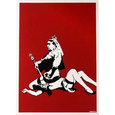 Banksy, 'Queen Vic - Signed', 2003