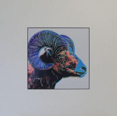 Andy Warhol, 'Bighorn Ram', 1987