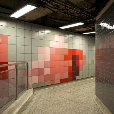 Chris Shepherd, 'Dufferin Station Mezanine Toronto', 2014
