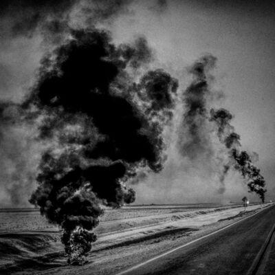 Matt Black, 'Crop duster markers. Corcoran, CA. ', 2014