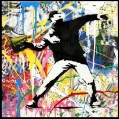 Mr. Brainwash, 'Banksy Thrower (6) ', 2015