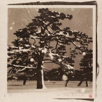 Toshio Enomoto, 'Imperial Palace Plaza under the Snow 2, Tokyo', 2013