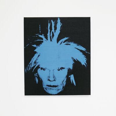 Louis Waldon, 'Self-Portrait (Fright Wig Blue),', ca. 1990
