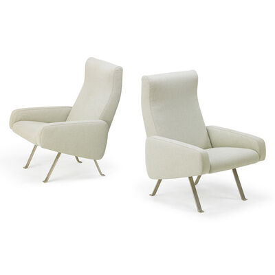 Joseph-André Motte, 'Pair of lounge chairs, France/The Netherlands', 1958