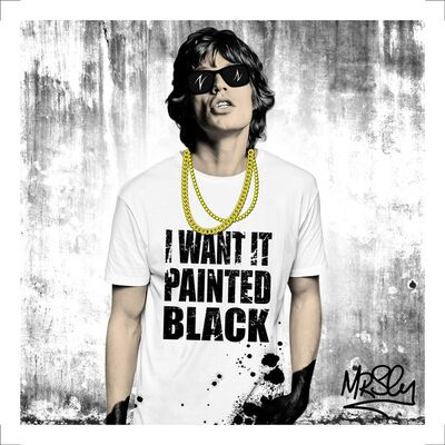 Mr.Sly, 'I want it painted black ', 2017