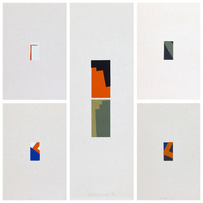 Blinky Palermo, 'Five Miniatures', 1972