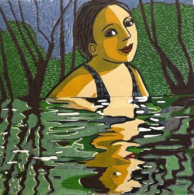 Anita Klein PPRE, 'Lake Swim', 2020