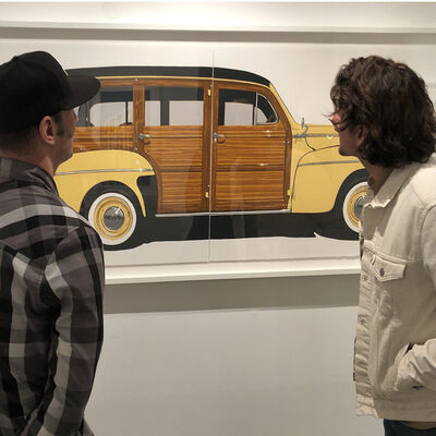 Dave Lefner - Vintage Road Trip, installation view