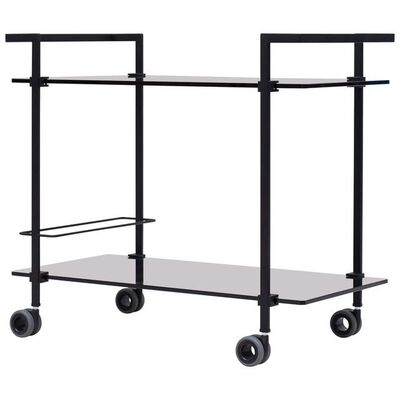 Peter Ghyczy, 'Peter Ghyczy Contemporary Tea Trolley Pioneer T63S Charcoal / Tinted Black', Contemporary