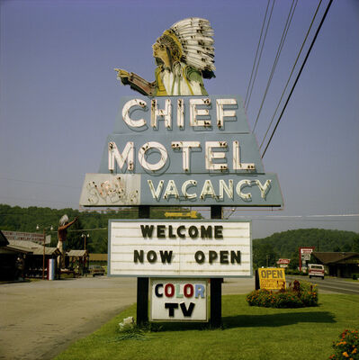 Steve Fitch, 'Cherokee, North Carolina; August', 1982