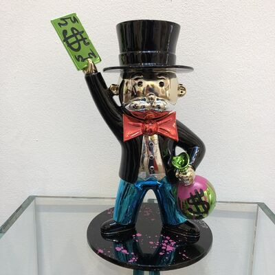 Alec Monopoly, 'MINI MONOPOLY $ IN THE AIR', 2018