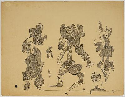 Gaston Chaissac, 'Sans titre    sur papier 50 × 64 cm Signée', ca. 1960