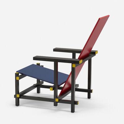 Gerrit Thomas Rietveld, 'Red Blue chair', 1918