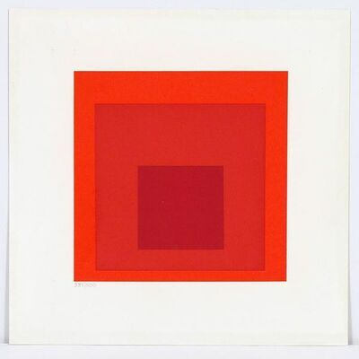 Josef Albers, 'Either/Or', 1973