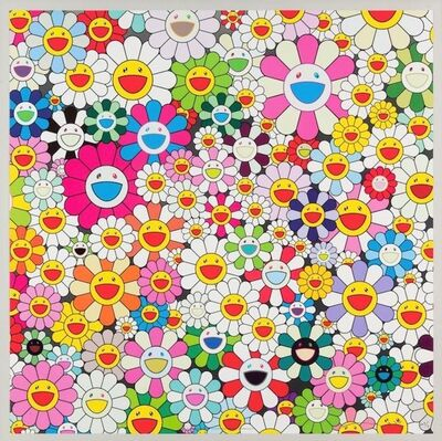 Takashi Murakami, 'Maiden in the Yellow Straw Hat', 2010