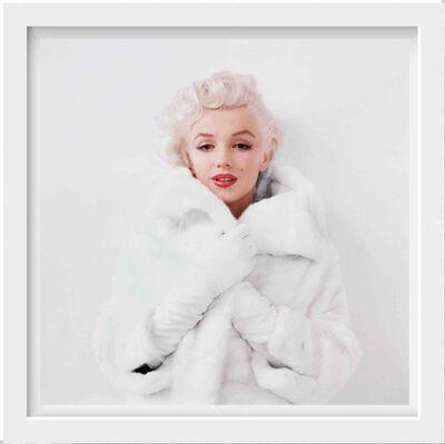 Milton H. Greene, 'Marilyn Monroe, White Fur', 1955
