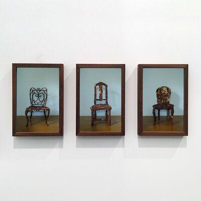 Adriana Varejão, 'Elegia mineira (triptych)', 2011
