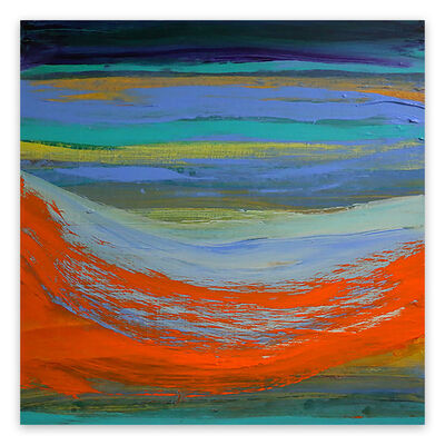 Deanna Sirlin, 'Moving Forward (Abstract painting)', 2020
