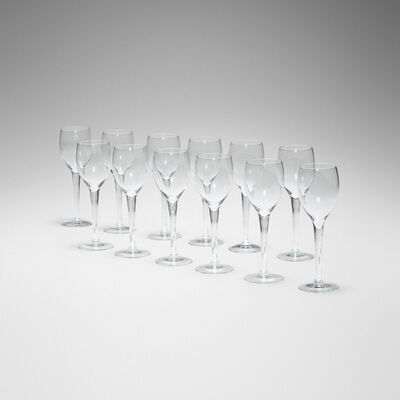 Maxim's de Paris, 'wine glasses, set of twelve'