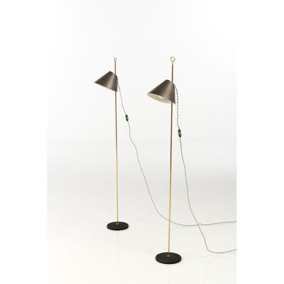 Luigi Caccia Dominioni, 'Monachella; Pair of lamps', 1953