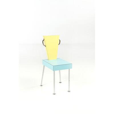 Ettore Sottsass, 'Seggiolina da Prenzo 5 - chair', circa 1980
