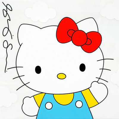 Shelby and Sandy, 'Hello Kitty with Clouds', 2019