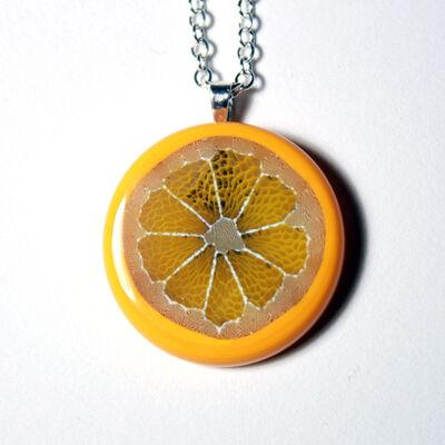Steve Hagan, 'Citrus Murrini Full Slice Necklace', 2017
