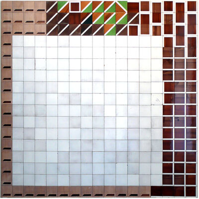 Fernando Renes, 'Pared marrón', 2021