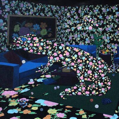 Lisa Ng, 'Floral Print Gecko', 2020