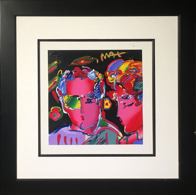 Peter Max, 'Zero Man in Love', 2009
