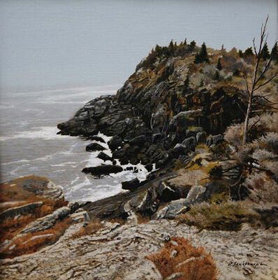 Peter Sculthorpe, 'North of Black Head - Monhegan', 2018