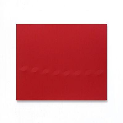 Turi Simeti, '8 ovali rossi', 2018