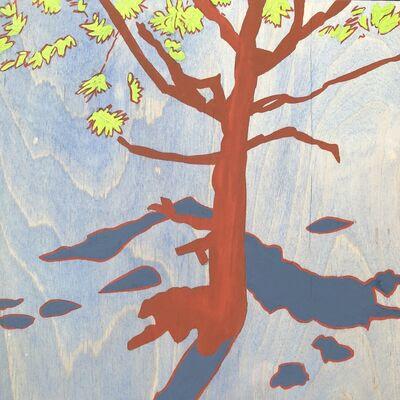 Meredith Nemirov, 'Red Tree/Blue Shadows', 2014