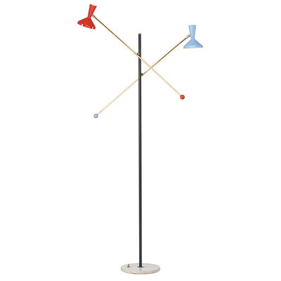 Stilnovo, 'Adjustable Floor Lamp, Italy', 1950s