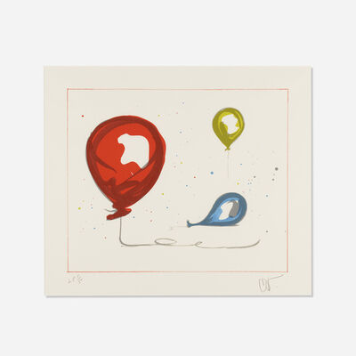 Claes Oldenburg, 'Balloons from The Landfall Press 30th Anniversary portfolio', 2000
