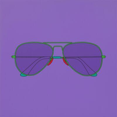 Michael Craig-Martin, 'Untitled (sunglasses)', 2014
