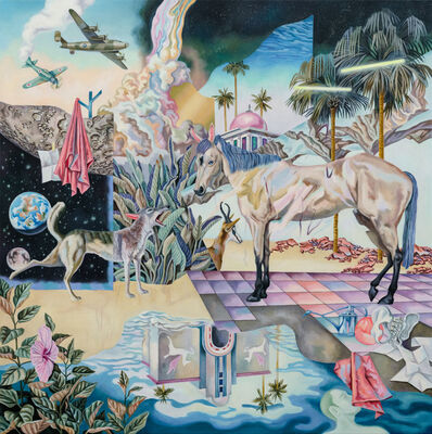 Ou Jing-Yun 歐靜雲, 'Illusion in Marsh 熱沼幻夢', 2019