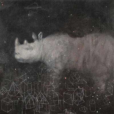 Alexey Terenin, 'Rhinoceros In Toy City', 2017