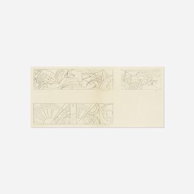 Roy Lichtenstein, 'Untitled (Studies for Leda and the Swan)', c. 1968