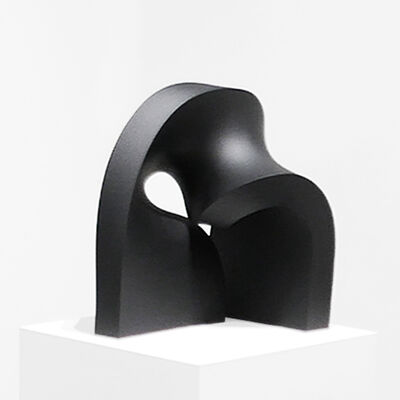 Stephanie Bachiero, 'Helix (Matt Black)', 2017