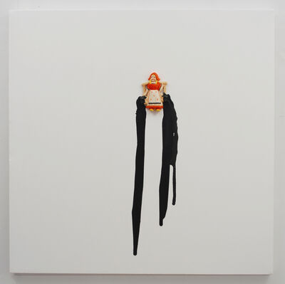 Liliana Porter, 'Untitled with black drips', 2008