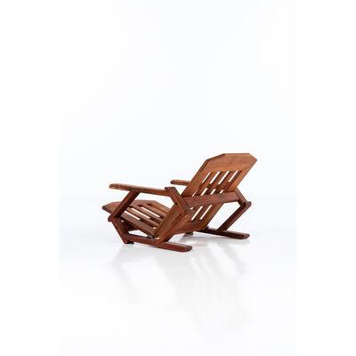 Pierre Chapo, 'Armchair with tilt adjustment', Around 1960