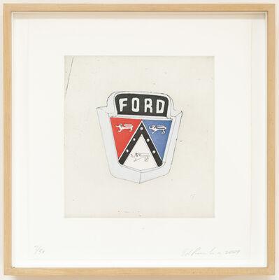 Ed Ruscha, 'Ford (Motor City)', 2009