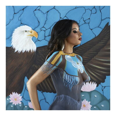 Emma Hack, 'The American Indian', 2012