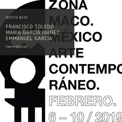 Galería Quetzalli at ZⓈONAMACO 2019, installation view