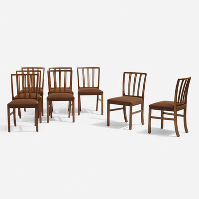Ole Wanscher, 'Dining chairs, set of eight', c. 1965